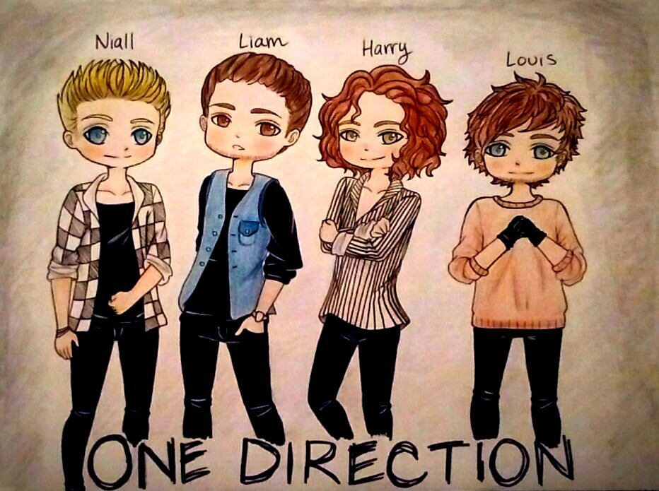 One Direction Chibis! by ani-chi-chan