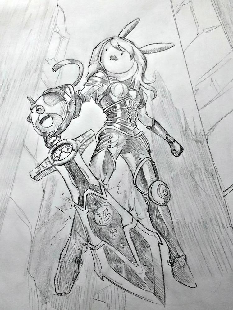 Adventure of Legends : Redeemed Fionna by Discommunicator