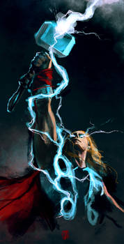 Thor VFX tshirt concept