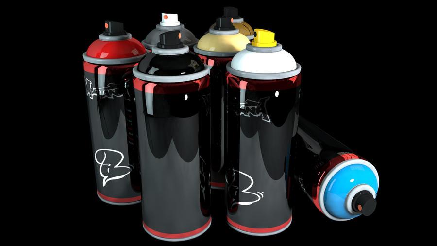 spray cans by ntnnz on deviantart. Black Bedroom Furniture Sets. Home Design Ideas