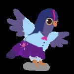 my little pony : trash dove is magic