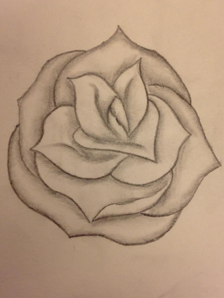 Simple Rose Design By BeyondEdge On DeviantArt