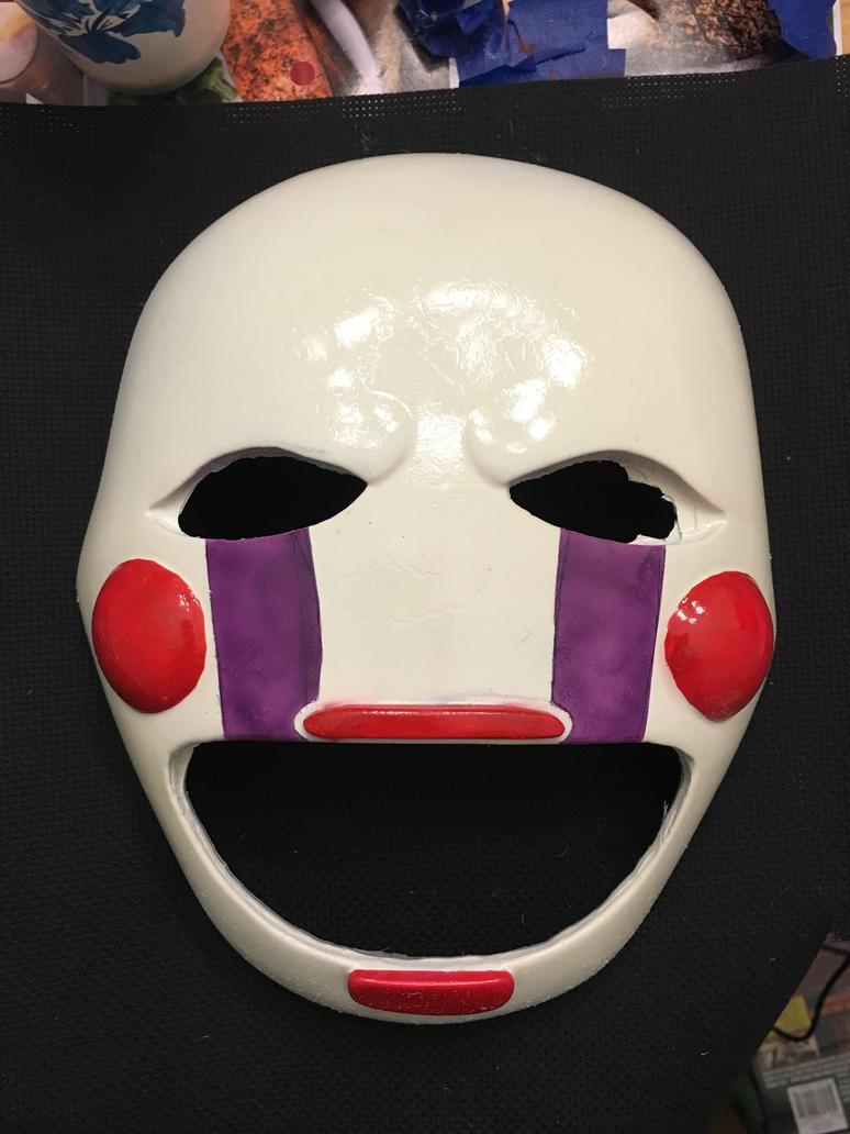 Marionette Mask by BuckarooProps