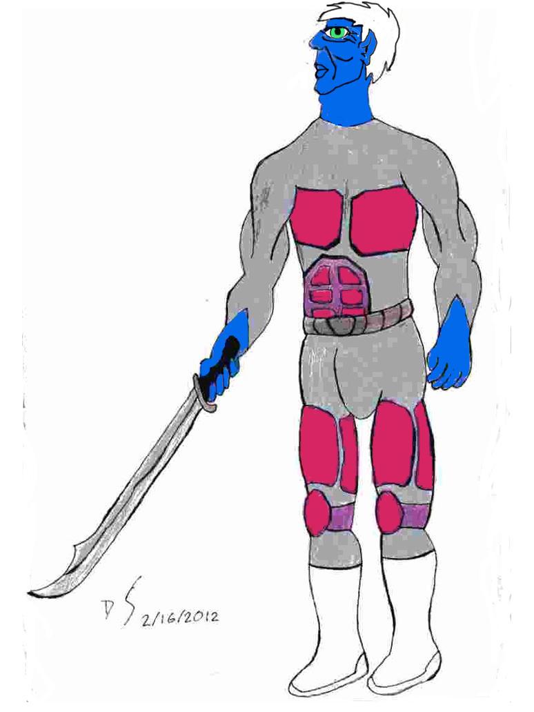 Dragos in Battlesuit by CayQel-Dromathegood1