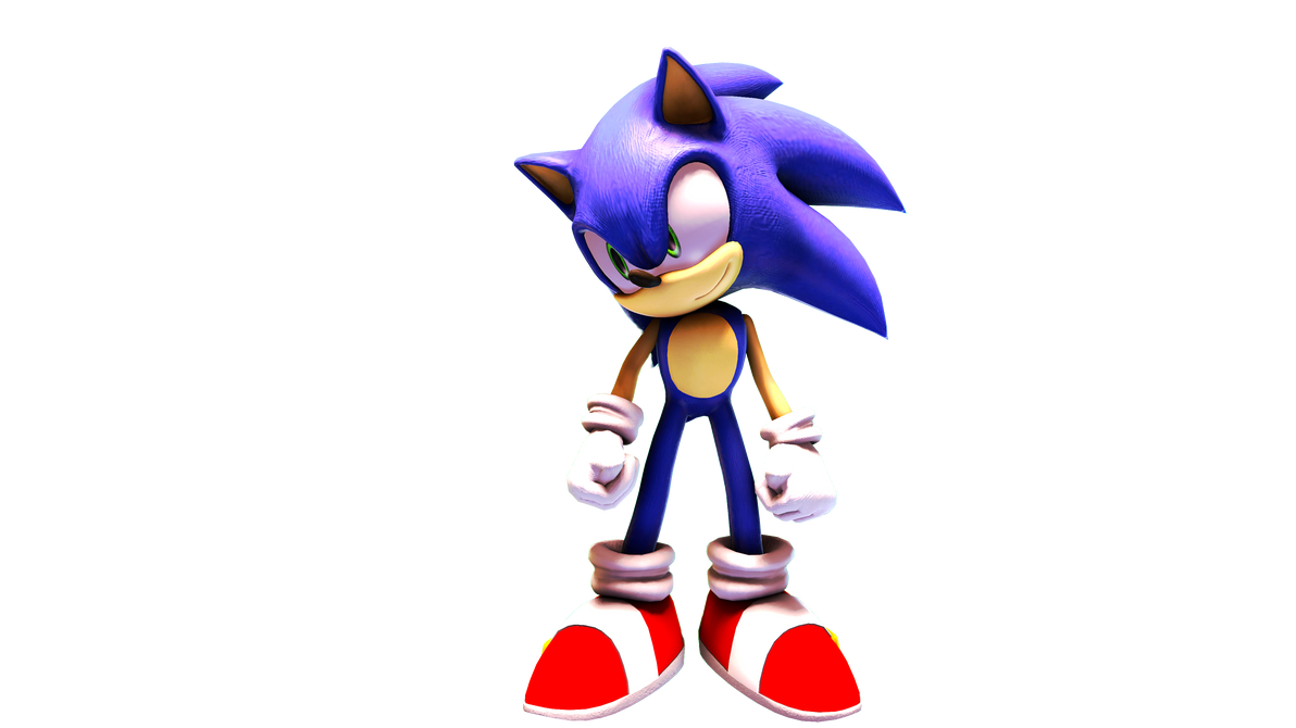 Sonic The Awfully Lit Hedgehog by Somarix