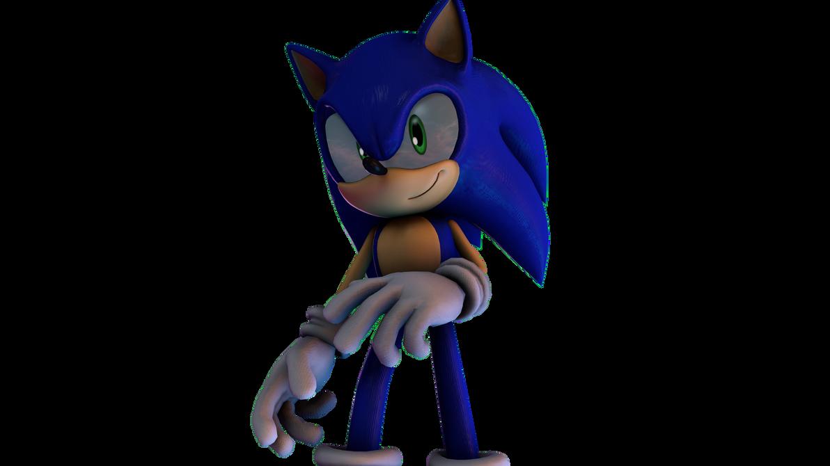 Anotha Sonic Render by Somarix