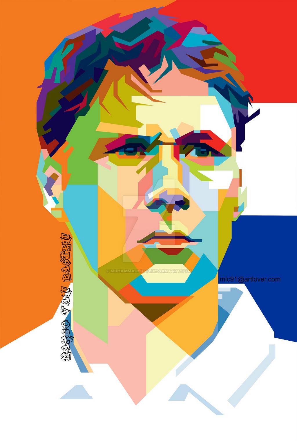 Marco Van Basten by MuhammadLutfi on DeviantArt