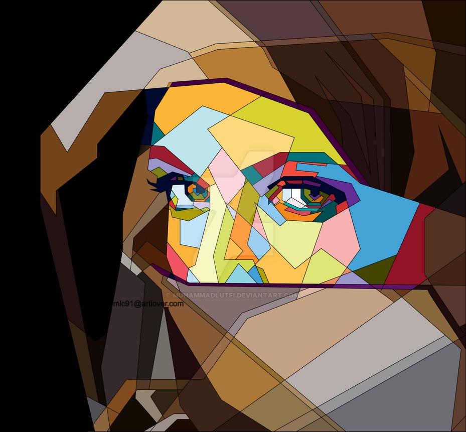 Veiled Woman by MuhammadLutfi