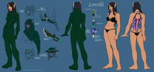 Model Sheet - Lorelli (BE Version)