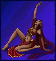 Elven Dancer by LoreliAoD