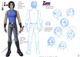 PotA Model Sheet 3 - Zane by LoreliAoD