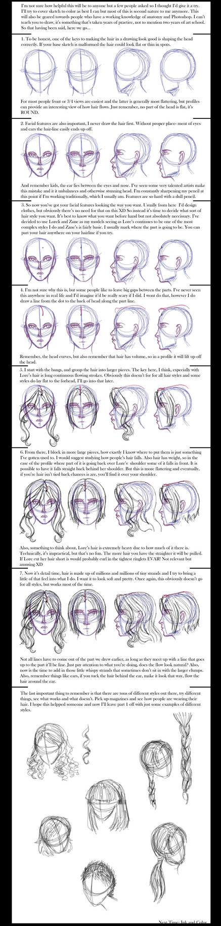 Hair Tutorial by LoreliAoD