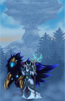 Teldrassil from Darkshore