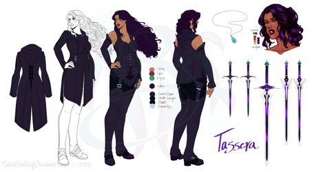 Tassera - Reference Sheet - Bad Influence