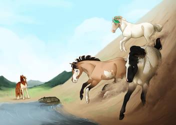 Viking Mud Skirmish by dat-inu