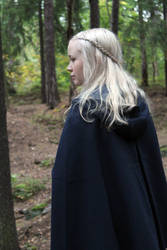 Female elf or human stock 01 by Andarana