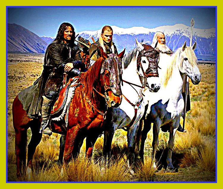 Aragorn, Legolas and Gandalf by Anne-Cathy on DeviantArt