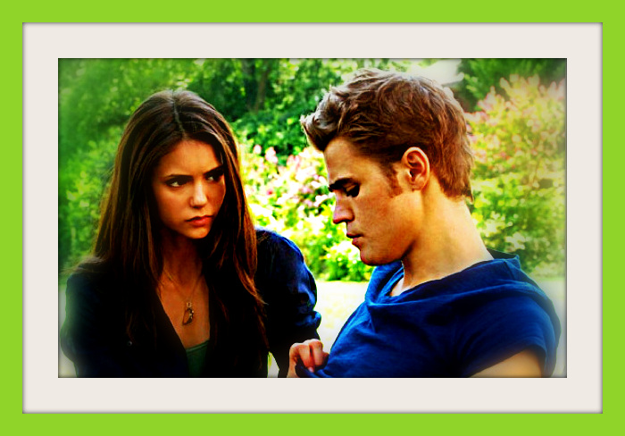 Elena and Stefan by Anne-Cathy