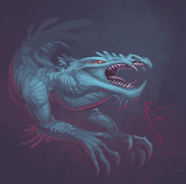 Dragon Speedpaint by Hydrothrax