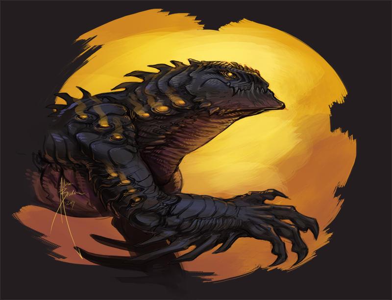 Moar Dragon Speedpaint by Hydrothrax