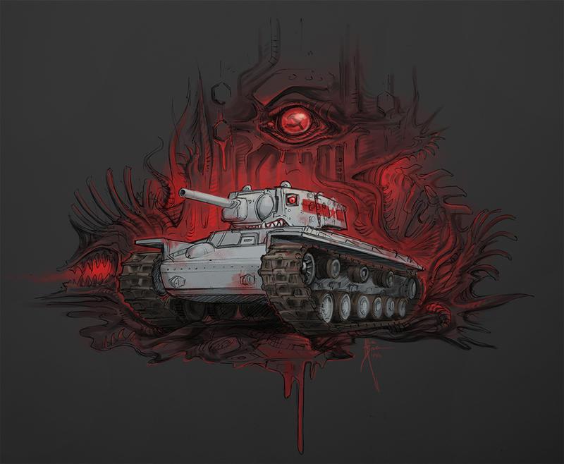 Evil Voroshilov by Hydrothrax