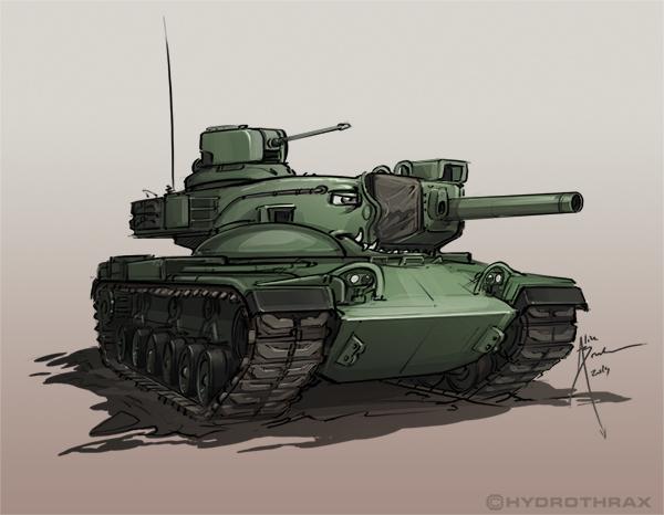 M60A2 by Hydrothrax