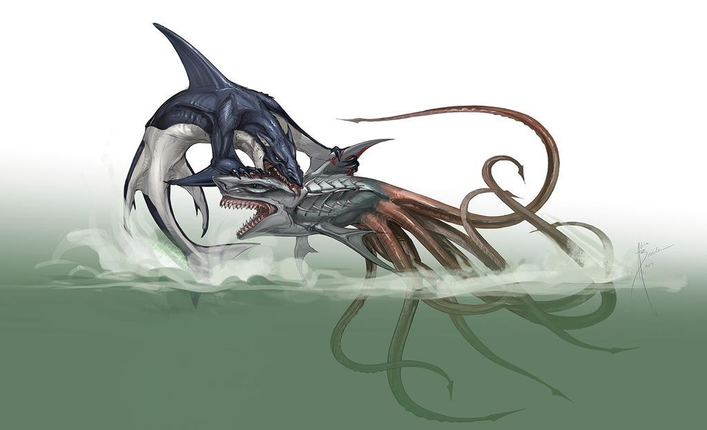 Whalewolf Concept 2 By Hydrothrax On DeviantArt