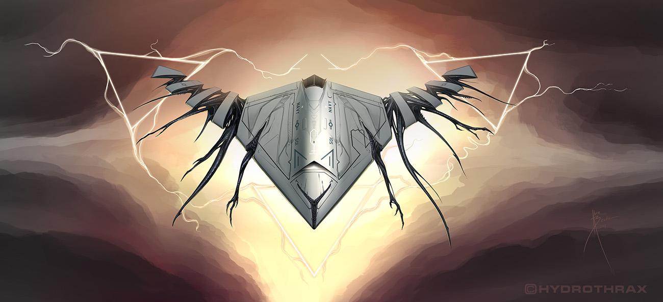 UCAV by Hydrothrax