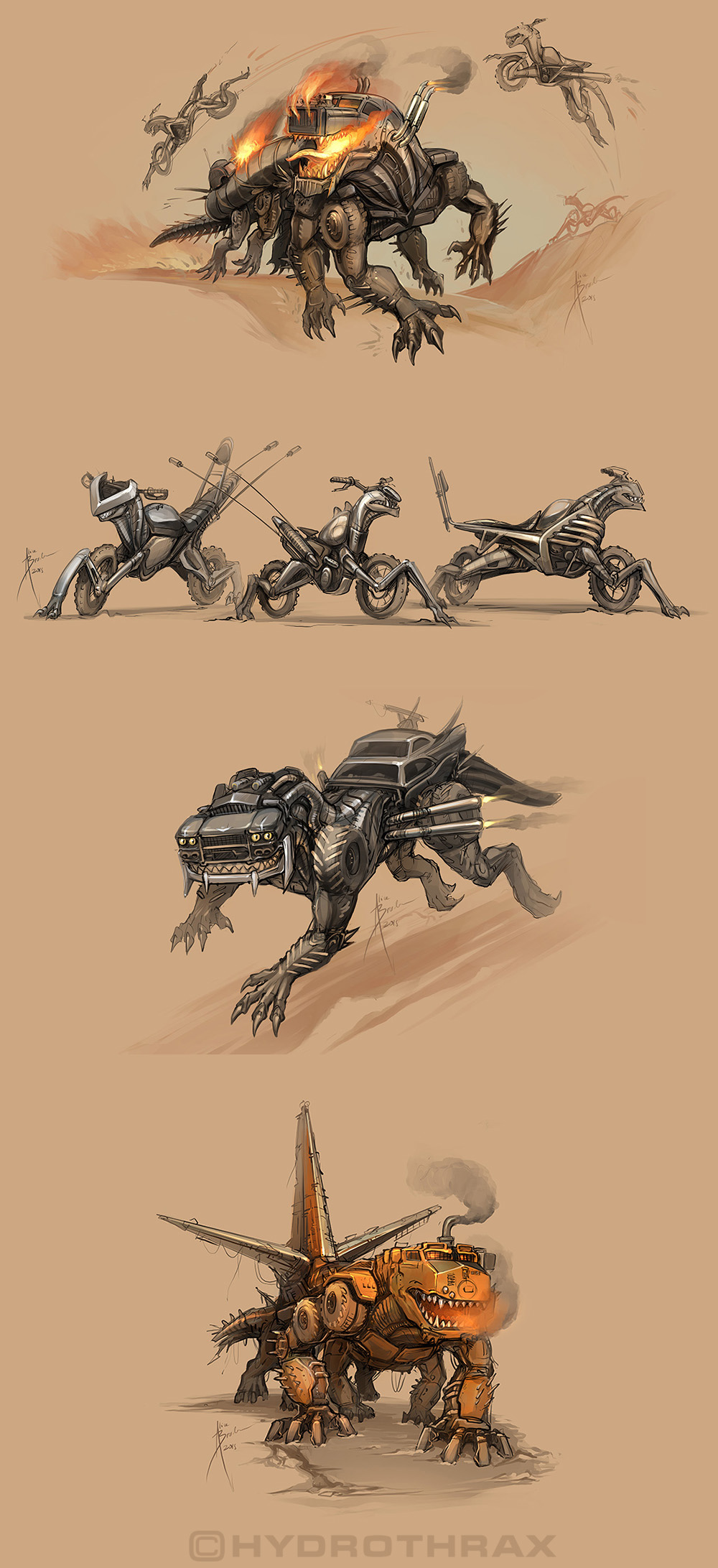 Mad Max Critters by Hydrothrax