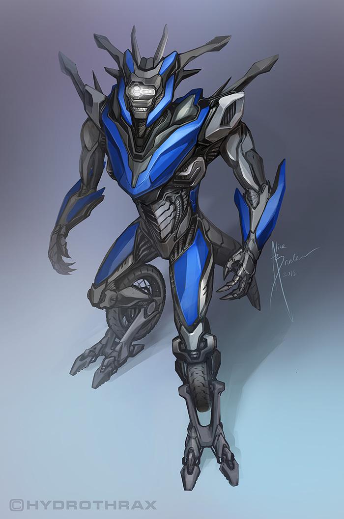 Moto-Mech by Hydrothrax
