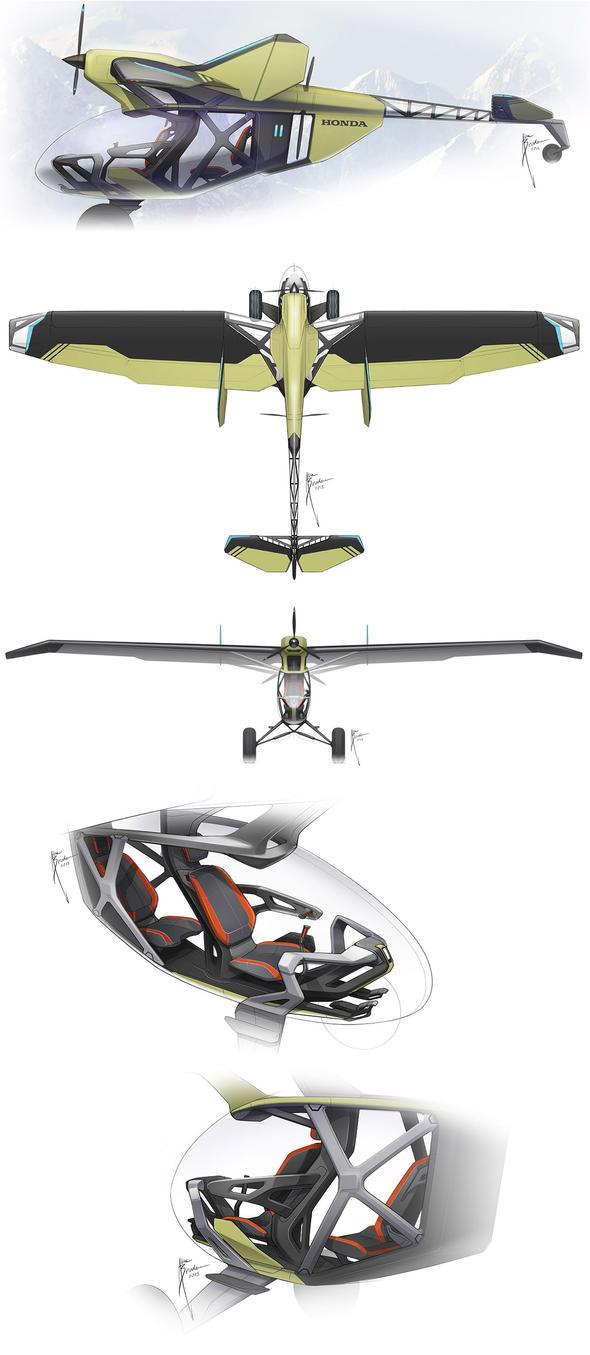 Honda LSA (Preliminary Concept) by Hydrothrax