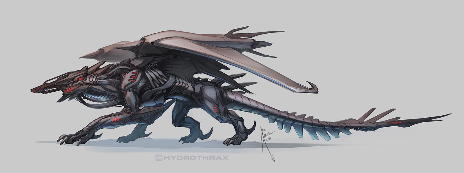 Gunface Dragonmech by Hydrothrax