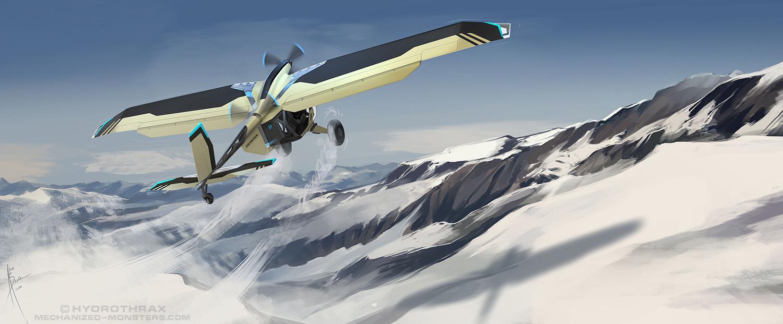 HondaPlane 01 by Hydrothrax