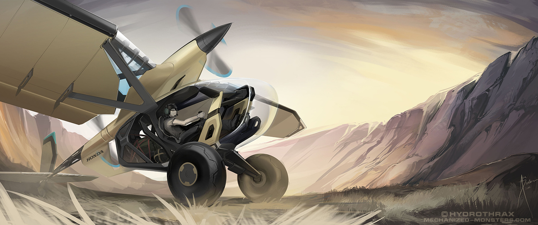 HondaPlane 02 by Hydrothrax