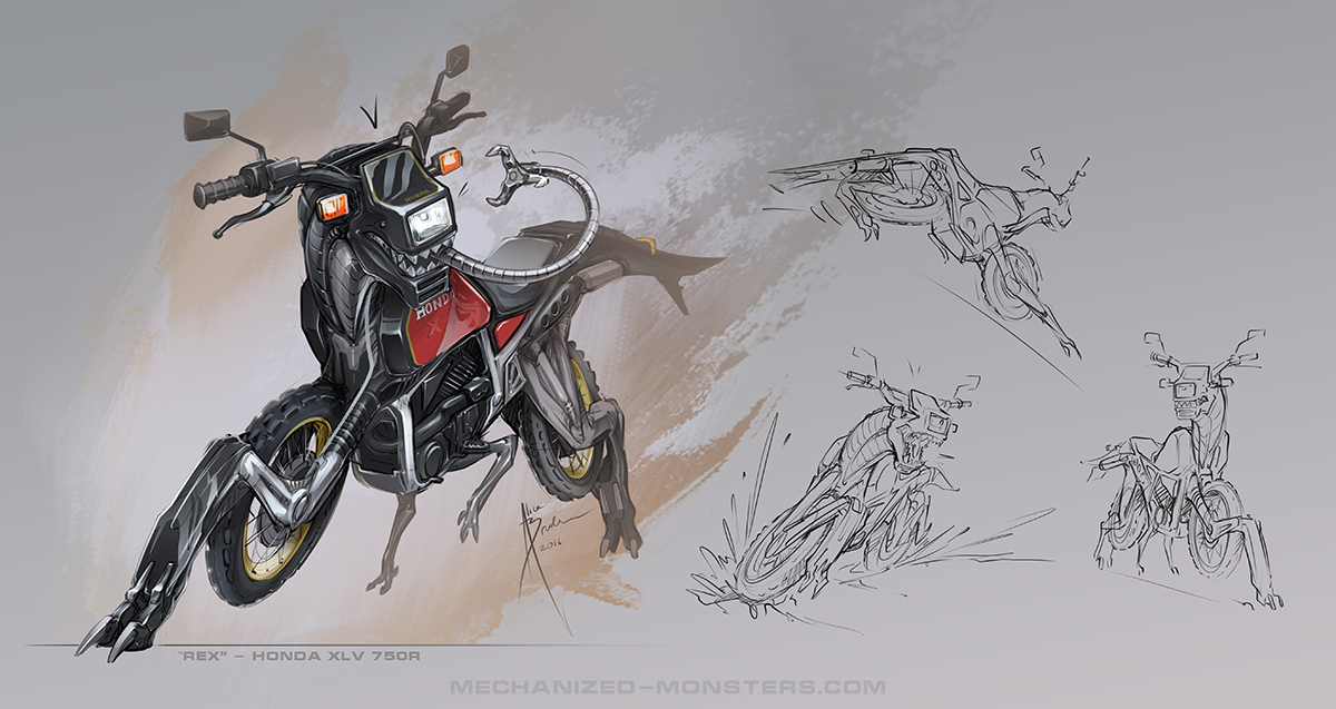 Rex Sketches by Hydrothrax