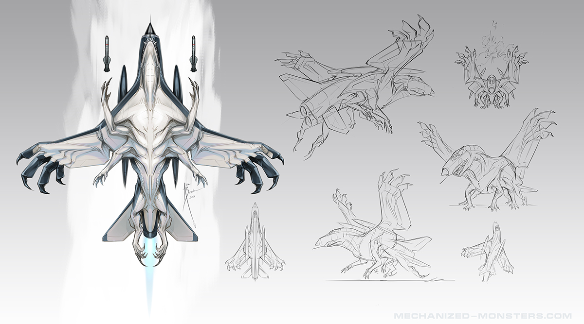 Sea Lightning Sketches by Hydrothrax