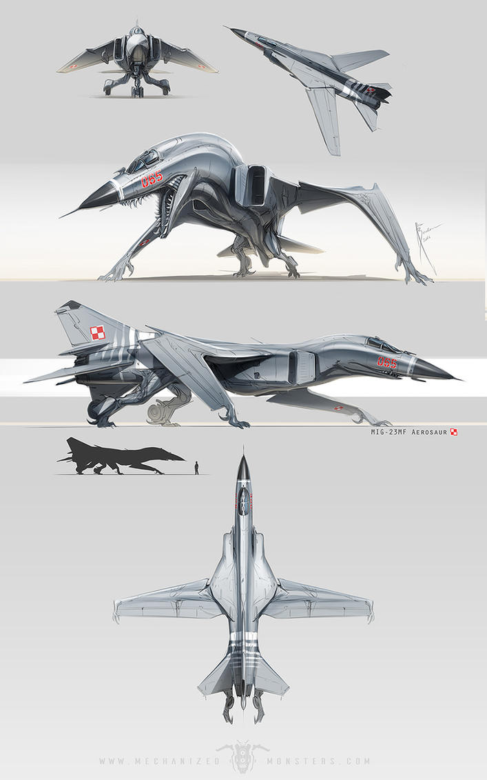 MiG 23 by Hydrothrax