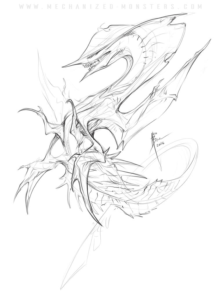 Nodle Dragon Doodle-800-marked by Hydrothrax