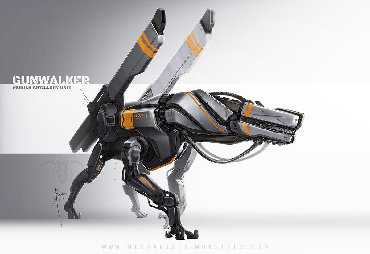 GunWalker by Hydrothrax