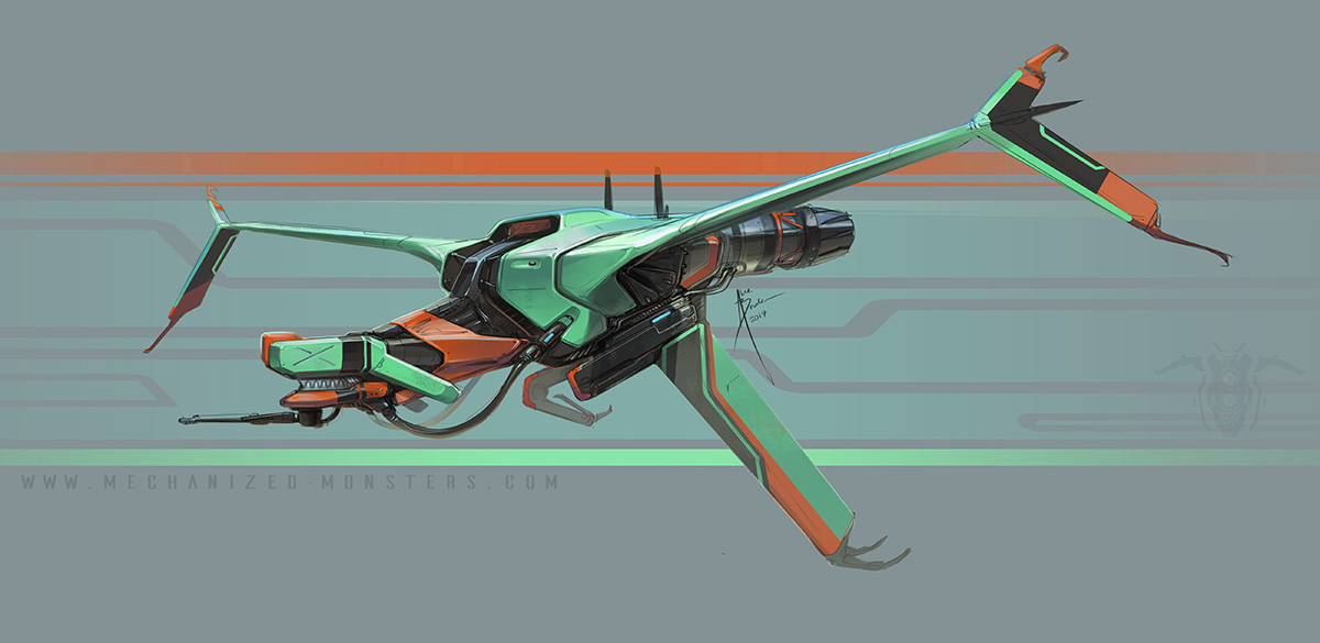 FlyerMech by Hydrothrax