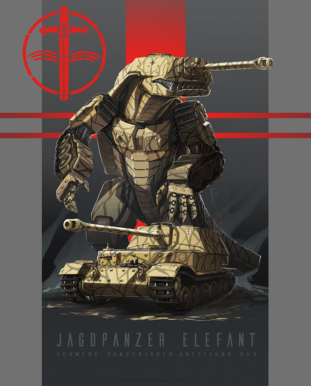 Jagdpanzer by Hydrothrax