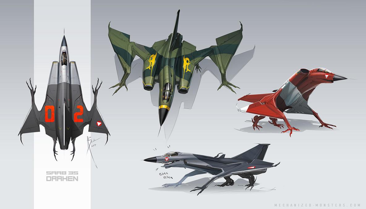 Draken! by Hydrothrax