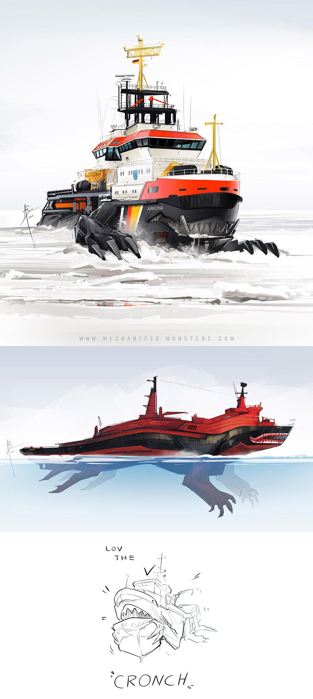 LOV THE CRONCH by Hydrothrax