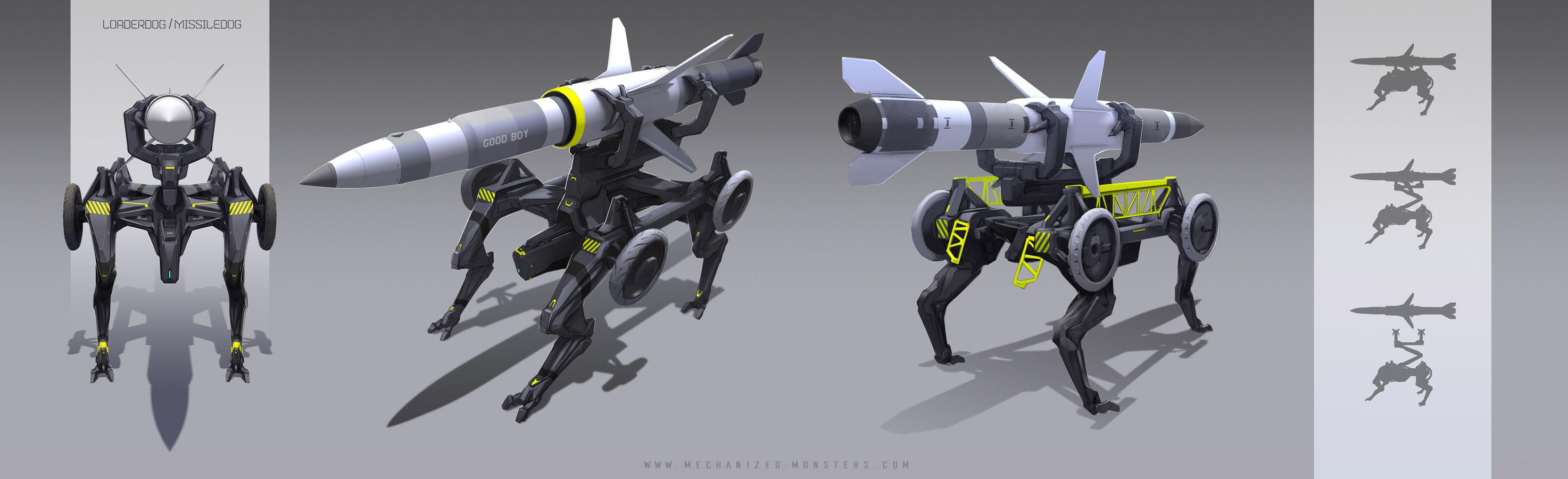 MissileDog by Hydrothrax