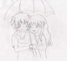 Kirihara and Kiara by deathkokoro
