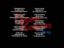Trail of Tears Poem by deathkokoro