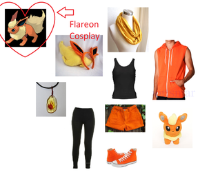 How to Cosplay Flareon by deathkokoro