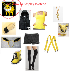 How to Cosplay Jolteon by deathkokoro
