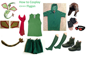 How to Cosplay Flygon by deathkokoro