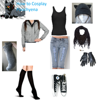How to Cosplay Poochyena by deathkokoro